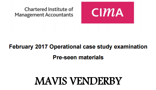 CIMA Feb 2017 OCS Exam Tips