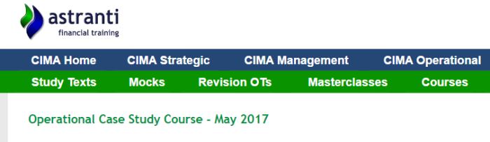 CIMA OCS Exam Tips