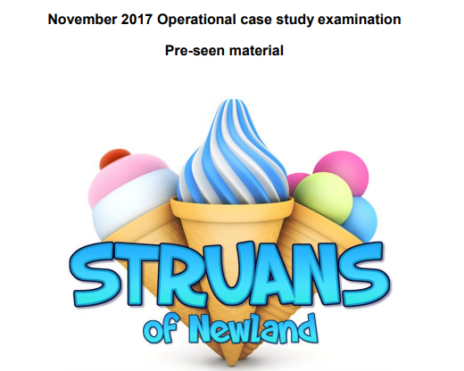 Nov 2017 OCS pre-seen materials