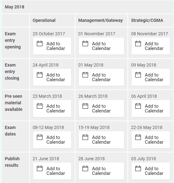 2018-03-05 14_15_29-CIMA - 2018 Exam timetable